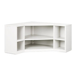 Martha Stewart Living - Martha Stewart Living&#153 Craft Space Corner Cubby - Our Martha Stewart Living&#153 Craft Space Corner Cubby fits perfectly into the corner of any room in your home to help keep you organized while saving plenty of space for you to sew, scrapbook or complete other craft projects. The large surface allows you plenty of space to spread out your project. The possibilities for this corner cubby are endless so order yours now. Cubbies add storage to your space. Add Martha Stewart Living™ Craft Space Cubby Drawers and Angled Cubby Drawers to keep your supplies organized.