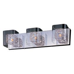 """ET2 - ET2 E22833-18 Gem 22"""" Wide 3-Bulb Bathroom Light Fixture - Product Features:"""