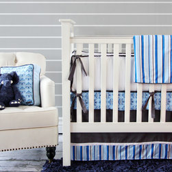 Fun Baby Beddomg - This bedding is made in the USA and is definitely one of a kind. Limited Quantities will be available Set includes: 1 crib skirt and 1 fitted crib sheet Coordinating blanket available! Limited Quantities will be available Set includes: 1 crib skirt and 1 fitted crib sheet Coordinating accessories include bumpers, blanket, panel curtains and changing pad cover!
