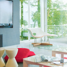 Contemporary Living Room by Halflants + Pichette