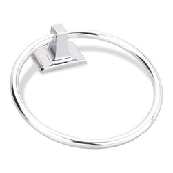 Elements - Elements Traditional Towel Ring - Polished chrome finishThe Elements collection by Hardware Resources has been designed to meet the need for beautiful, yet cost-conscious decorative hardware. Through our devotion to innovation, we are able to offer you uncompromising quality and style at an affordable price.