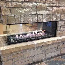 Contemporary Fireplaces by Colorado Custom Fireplace