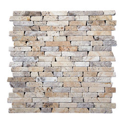 Natural Stone Favorites - Philadelphia Random Tumbled Mosaic