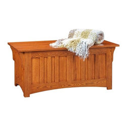 Fifthroom - QUICK SHIP Mission Oak Chest -