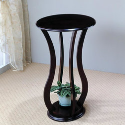 Coaster - Cherry Transitional Plant Stand - Cherry finished plant stand.
