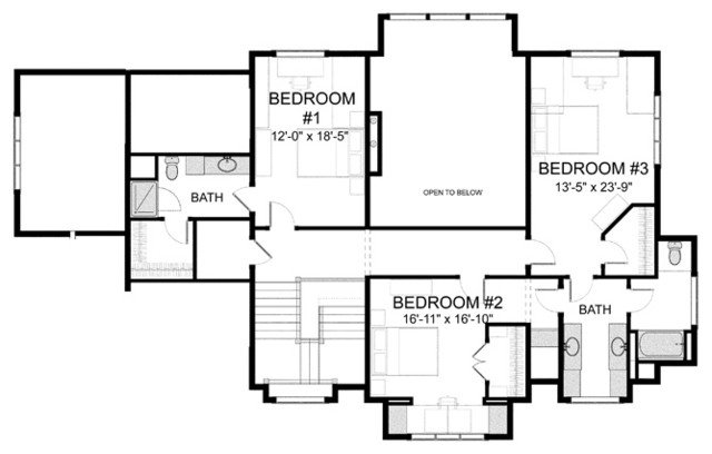 Homes plans for Visbeen architects floor plans