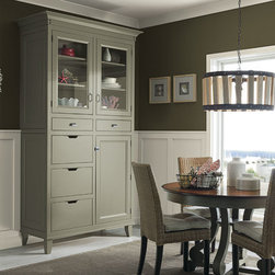 Inset Dining Room Cabinets - Decora Cabinetry -