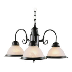 Trans Globe Lighting - Trans Globe Lighting 1098 ROB Back to Basics Traditional Chandelier - Trans Globe Lighting 1098 ROB Back to Basics Traditional Chandelier