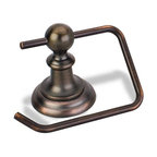 Hardware Resources - Elements Conventional Euro Tissue Paper Holder - Dark Brushed Antique Copper - Element is the premier manufacturer and importer of the finest decorative cabinet and furniture hardware. - Finish - Dark Brushed Antique Copper