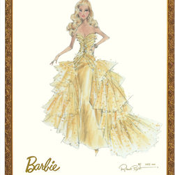 Art For Kids - 50th Anniversary Limited Edition Barbie Print - 50th Anniversary Limited Edition Barbie Print