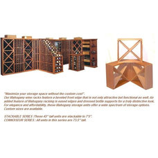 Traditional Wine Racks by Wine Cave