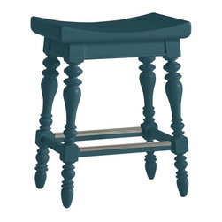 Stanley Furniture - Coastal Living Retreat-5 O'Clock Somewhere Counter Stool - Island-inspired attitude with details like double-lathed legs and an arched seat make this stool anything but ordinary.