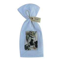 Olives    Flour Sack Towel  Set of 2 - A fabulous set of 3 flour sack towels. This set features a wonderful antique botanical fruit print of Olives.   These towels are printed in the USA by American Workers!