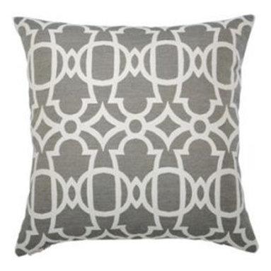 """New Elaine Smith Pillows - St. Bart's Gate Pebble - 20"""" x 20"""" Elaine Smith Pillows"""