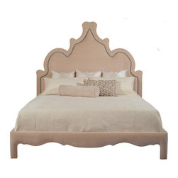 Emerson Bentley - Marrakesh  King Bed, Royal Indigo - Style: 6152-07KB - Marrakesh Bed