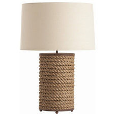 Beach Style Table Lamps by Masins Furniture