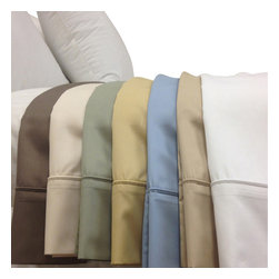 Bed Linens - Wrinkle Free 650 Egyptian cotton Pillowcases King White - Enjoy the best of both worlds, Egyptian cotton comfort blended with the strength and wrinkle free of polyester. This top rated linen was crafted with 70% of long staple Egyptian cotton & 30% of high strength Microfiber Polyester. Enjoy the extended life span of Egyptian cotton comfort without wrinkles.