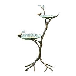"SPI - Gossiping Birds Birdfeeder - -Size: 34"" H x 23.5"" W x 17.5"" D"