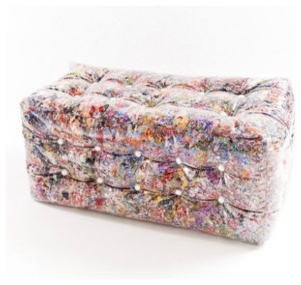 Eclectic Floor Pillows And Poufs PLOF Pouffe by Atelier Belge