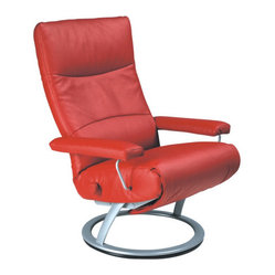 Jessye Leather Ergonomic Recliner