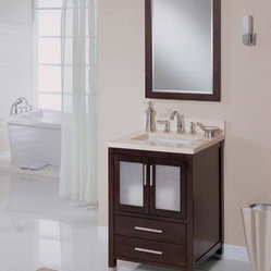 "Empire Industries Chelsea 24"" Vanity Extra Deep CH25XDC"