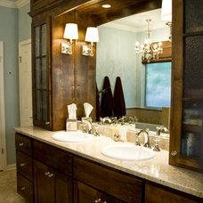 Contemporary Bathroom by Adentro Designs