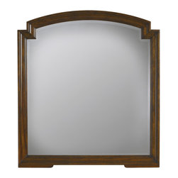 Stanley Furniture - Vintage Bedroom Mirror - Vintage Cherry Finish - Beautiful for its simplicity, the highlight of this Mirror is its notched corners. The only further adornment needed is the hand-rubbed luster of the rich Vintage Cherry finish, which imparts the appearance of a much-beloved family heirloom. Made to order in America.