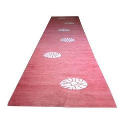 Madeline Weinrib Coral Carpet Runner - $1,650 Est. Retail - $800 on Chairish.com -