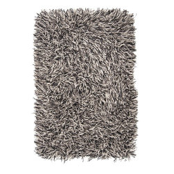 Surya - Surya SUR-LOW3500 Longfellow Plush Hand Woven Wool Rug - Make a dramatic statement with this long strand felted wool shag. Made from 1% felted New Zealand wool, the pile of the Longfellow collection is a one of a kind design sure to be the design center piece of a room. Each rug features an expertly hand crafted construction in multi -color strand combinations.