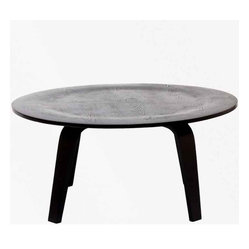 Modway - Plywood Coffee Table In Black - Eei-509-Blk