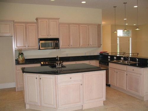 Refinish Pickled Oak Kitchen Cabinets