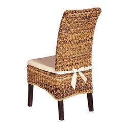 Four Hands - Banana Leaf Chair with Cushion -