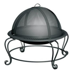 Char-Broil - Char-Broil High Profile Stainless Steel Bowl - Guests will love gathering around this Char Broil outdoor firebowl. With a high quality Stainless Steel construction this fire pit has been built with lasting durability in mind. Keep a day party going into the evening with this handy Char Broil firebowl. Mesh screen helps keep ashes inside. Cover is designed to let you add firewood without removing the entire screen. Integrated log grate raises firewood for better burning. Details Includes fire poker 30 in. diameter 24 in. height with screen 13 in. height without screen. Accommodates standard size fire logs.