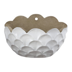 Lazy Susan - Milk Blossom Wall Planter - -Handcrafted