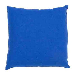 Jaipur - Linen French Blue 20-Inch Decorative Pillow - - The Linen collection is made of 100% linen for a lux feeling in the simplest way. Solid colors go with any decor       - Care Instructions: Remove the throw pillow's cover if it is removable. Wash the cover separately from the pillow. Pre-treat badly soiled or stained areas on the pillow cover with a color-safe prewash spray. Rub the spray into the stain with a damp sponge. Wash the pillow cover or the whole pillow on a gentle-wash cycle in warm water with a very mild detergent. Detergent for delicate fabrics or baby clothes is usually suitable. Remove the pillow or pillow cover as soon as the washing machine has ended the cycle and has shut off. Hang the pillow or cover up to dry in a well-ventilated area. If the care label specifies that the item is dryer-safe place the pillow or pillow cover in the dryer and tumble dry on low heat. Fluff the pillow once it is dry in order to maintain its form. Don't use the pillow until it is completely dry. Damp pillows will attract dirt more easily  - Made in USA Jaipur - PLC100904