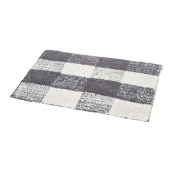Prestige Cotton Bath Rug Romeo Grey/White - This prestige cotton bath rug Romeo is 100% cotton. Ultra-soft, deep, and inviting, this bath mat is a rug you can luxuriously sink your toes in and will give a sophisticated look to any bathroom. This beautiful bath rug features an eye-catching stylish geometric pattern. It provides a soft, cushioned feel, shock absorption and is durable. Manufacturer recommends using a nonskid pad beneath the rug (not included). Hand wash and no dryer. Indoor use only. Width 20-Inch and length 31.5-Inch. Color grey and white. Enhance your bathroom decor with this handsome prestige bath rug and add an understated elegance to your space. Imported.