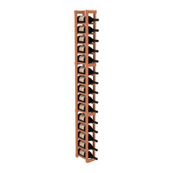 Wine Racks America - 1 Column Magnum/Champagne Cellar Kit in Redwood, (Unstained) Redwood - Talk about magnum force! This sturdy wooden wonder accommodates large bottles and looks great doing it. So go ahead, order that case of champagne!