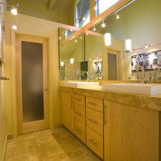 Contemporary Bathroom by Norwell Design Build