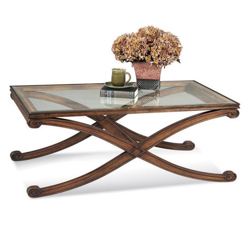 Bassett Mirror Company - Bassett Mirror T1146-100 Wellington Rectangular Cocktail Table - Traditional Rectangle Cocktail Table in Dark Fruitwood Fininsh on Asian Hardwood belongs to Wellington Collection by Bassett Mirror Company Bassett Mirror is fluent in this art, showing a terrific contemporary furniture that will satisfy on the one hand fans of home coziness, and on the other hand - seekers of non-standard design solutions also. One of the many strengths of the Bassett Mirror is using high quality materials for perfect embodiment of brilliant design ideas. Cocktail Table (1)