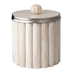 Lazy Susan - Bone Rod Pattern Ice Bucket - -Handcrafted