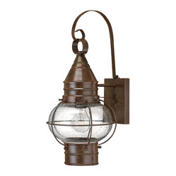 Hinkley Lighting - Cape Cod Wall Outdoor Lantern - The way you light your home says a lot about you. And why shouldn't the outside look just as good as the inside? If you're a fan of the East Coast, grab a piece of Cape Cod real estate for yourself with this iconic lantern.