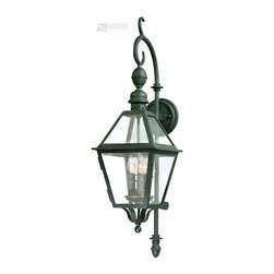Troy Lighting - Troy Lighting B9621NB Townsend Transitional Outdoor Wall Sconce - Troy Lighting B9621NB Townsend Transitional Outdoor Wall Sconce