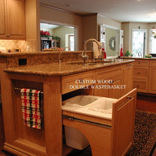 Trash Cans by Woodmaster Kitchens