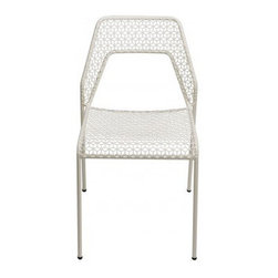 Blu Dot Hot Mesh Chair - These chairs just look good, and they are comfortable to boot. They would be great for outdoor dining.