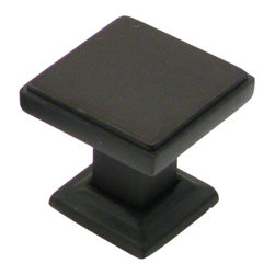 """Rusticware - 991 1 1/8"""" Knob - Oil Rubbed Bronze - This Oil Rubbed Bronze cabinet knob is a versatile and stylish piece of hardware that will add to the decor of any room in your home. All Rusticware knobs and pulls come with standard 8/32"""" screws and screws that are 1/2"""" longer to fit most applications."""