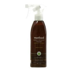 Method Wood For Good Spray - Almond - 12 Oz - Case Of 6 - Planet Friendly Wood Surface Cleaner