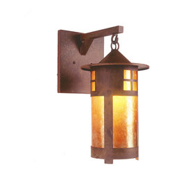 Steel Partners Inc - Hanging Sconce - PASADENA - Every piece we create is unique — handcrafted at our factory in Chehalis, Washington, USA. Due to this, lead times are 2 to 4 weeks.