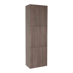 Fresca - Fresca Bathroom Linen Side Cabinet w/Three Large Cabinets - This great side cabinet features three large storage cabinets.
