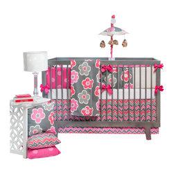 Glenna Jean - Addison Baby Crib Bedding Set by Glenna Jean - The Addison Baby Crib Bedding Set by Glenna Jean, along with the Addison bedding accessories.
