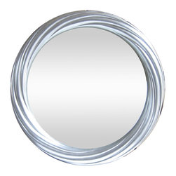 kasamoderndesign - Modern Contemporary Round Silver Wall Mirror - Create design and accents in your home walls with mirrors by Kasa Modern Design. Ideal for display in Bedrooms, Hallways, Living Rooms, and others. This is a great complement for your space and will create a focal point amongst any contemporary furnishing. Item # FP-005